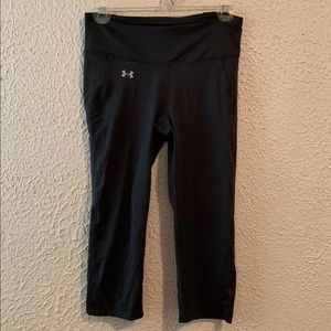 NWOT Under Armour Small Crop Yoga Pants